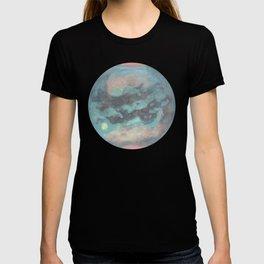 Titan Mermaid Moon of Saturn Realistic T-shirt