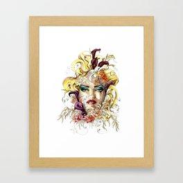 Vénéneuse Framed Art Print
