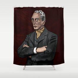 Portrait of an Illustrator - Rockwell Shower Curtain