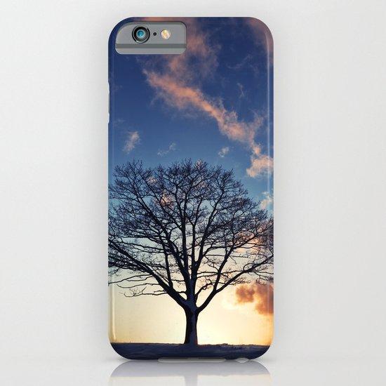 Winter Sunset iPhone & iPod Case