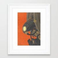 bioshock infinite Framed Art Prints featuring SongBird - BioShock Infinite by LindseyCowley