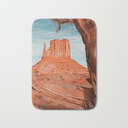 Monument  Valley, Arizona Panorama - 2 Bath Mat