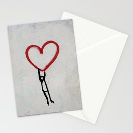 heart wall Stationery Cards