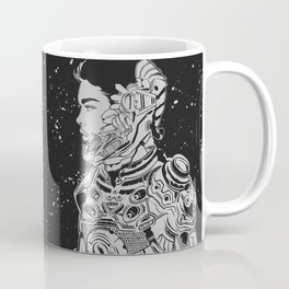 Space Nouveau Coffee Mug