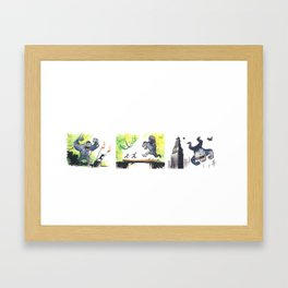 Every Day... Framed Art Print