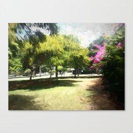 The Raanana Park 6 Canvas Print