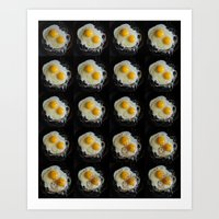 eggs Art Prints featuring Eggs by Maansi Jain