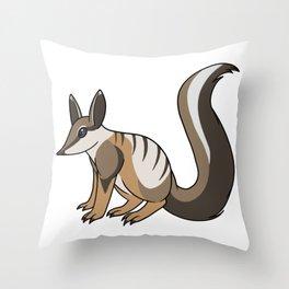 Numbat Throw Pillow