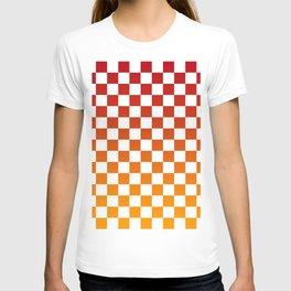 Chessboard Gradient T-shirt