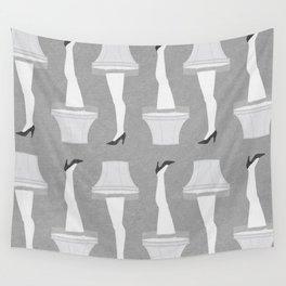 Leg Lamp Grey Wall Tapestry