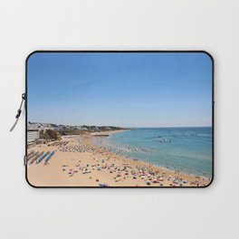 One day at the beach Laptop Sleeve