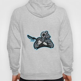 Bighorn Ram Lacrosse Mascot Hoody