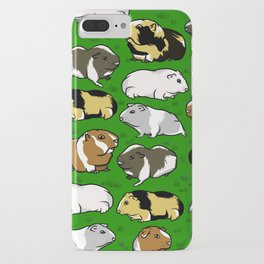 Guinea pig pattern iPhone Case