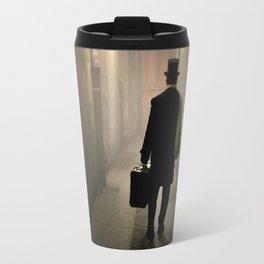 Victorian man with top hat Travel Mug