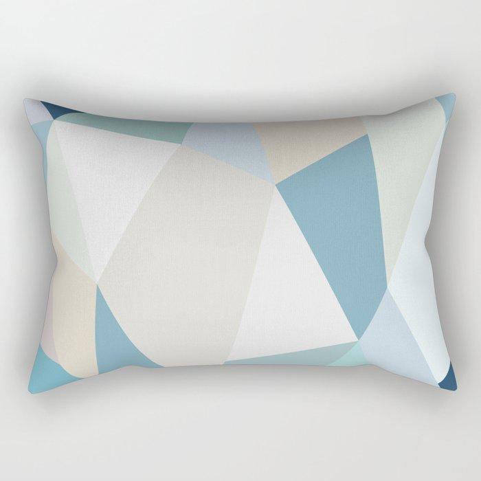 SPRING LOVE { BLUE } Rectangular Pillow