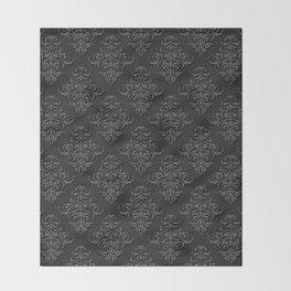 Victorian Pattern 2B Throw Blanket
