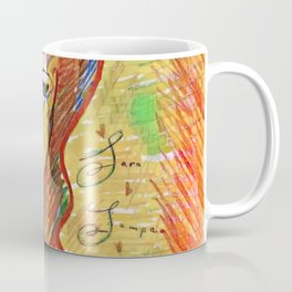 """Life Should Not Only Be Lived, It Should Be Celebrated"" Osho Coffee Mug"