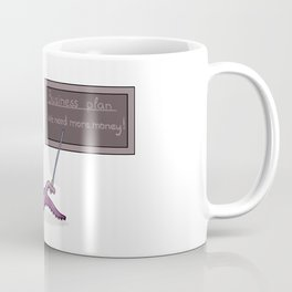 Octopus as a businessman and his business plan Coffee Mug