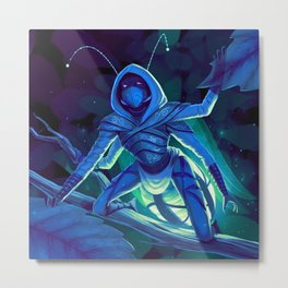 Lumi, the Firefly Scout Metal Print