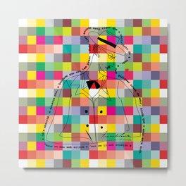 Fernando Pessoa 4 Metal Print