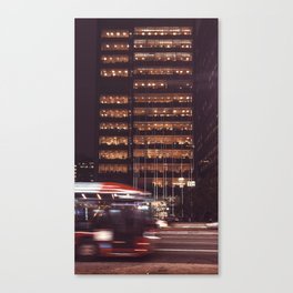 Light building Canvas Print
