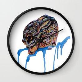 Baby Jackrabbit Wall Clock