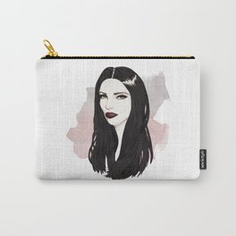Raven Hair Carry-All Pouch