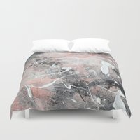 morocco Duvet Covers featuring Morocco by Solveig Noll