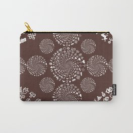 For the Love of Chocolate: Love Symbols Mandala Carry-All Pouch