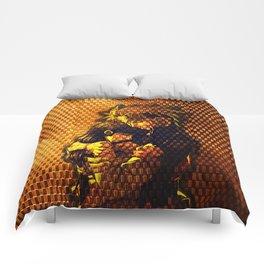 hinata and naruto Comforters