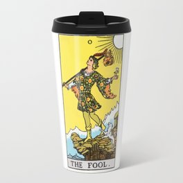 00 - The Fool Travel Mug