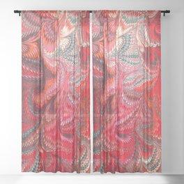 Fancy Swirls  Sheer Curtain