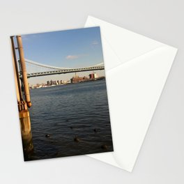 NYC East River | Manhattan Bridge Stationery Cards