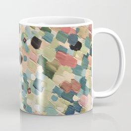 SWEPT AWAY 4 - Lovely Shabby Chic Soft Pink Ocean Waves Mermaid Splash Abstract Acrylic Painting Coffee Mug