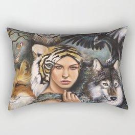 We Are the Wild Rectangular Pillow