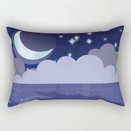 Ocean Night Rectangular Pillow