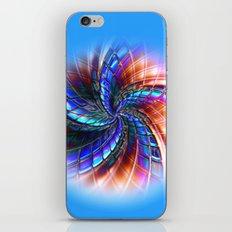 Cobalt Star iPhone & iPod Skin