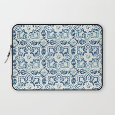 tile pattern IV - Azulejos, Portuguese tiles Laptop Sleeve