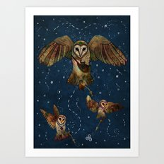 Healers Of Light Art Print