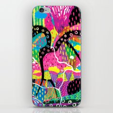 My mind runs wild like your imagination iPhone Skin