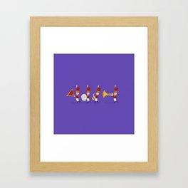 Little band Framed Art Print