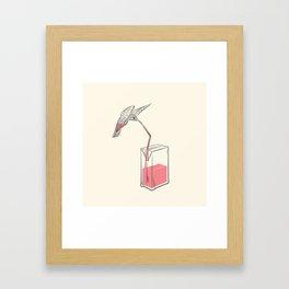 Filler' Up Framed Art Print