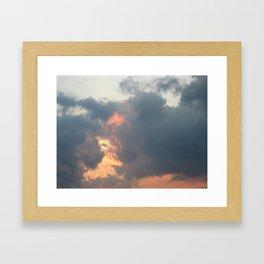 Just an Ordinary Evening Here Framed Art Print