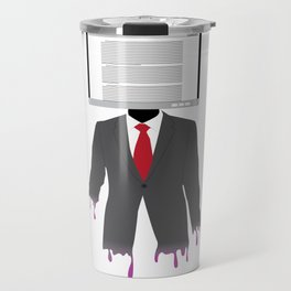 Computer Head Travel Mug