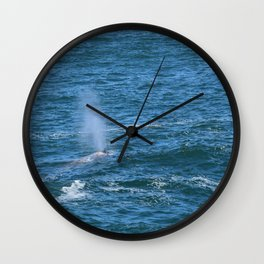 Thar she blows! Wall Clock