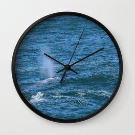 Thar she blows! Wall Clock