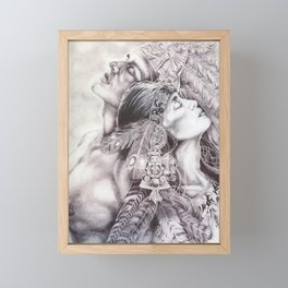 Aztec Framed Mini Art Print