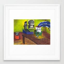 Keiki Masterplan Framed Art Print