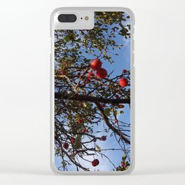 Cranberries & Sky Clear iPhone Case