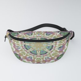Abstract Flower AA YY Q Fanny Pack